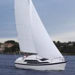 Tattoo 26 demo sails at Strictly Sail Long Beach October 24-27