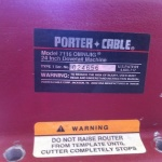 Porter Cable DOVETAIL MACHINE 2