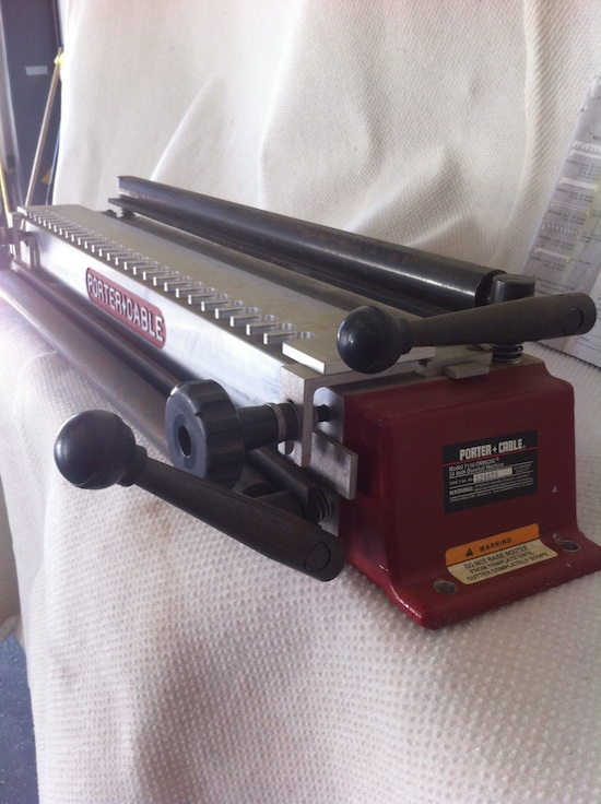porter cable dovetail machine